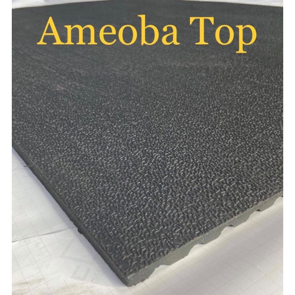 Rainbow-Horse/Stable/Gym/garage Rubber Mat  (Ameoba Top)  6x4ftx12mm