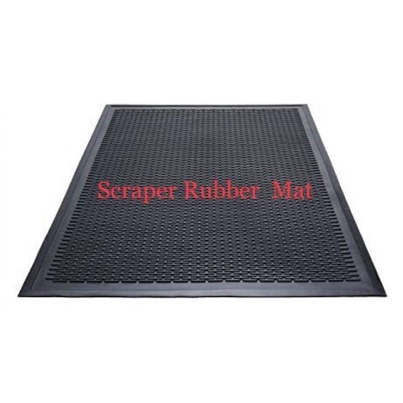 Rubber Scraper Mat