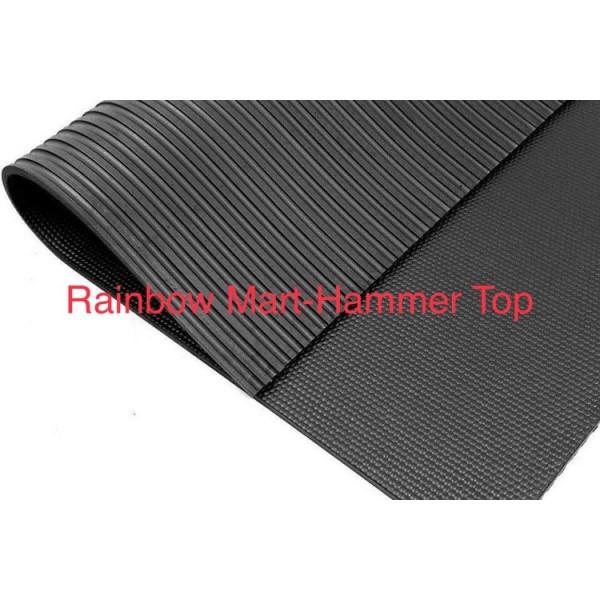 Rubber Stable /Horse Hammer Top Mats-6x4ftx17mm